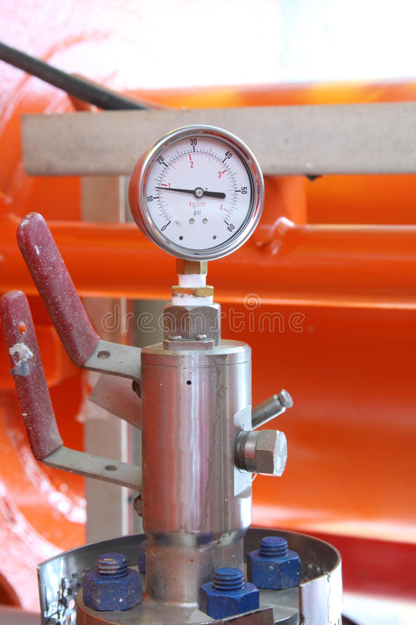 gauge arkivbild