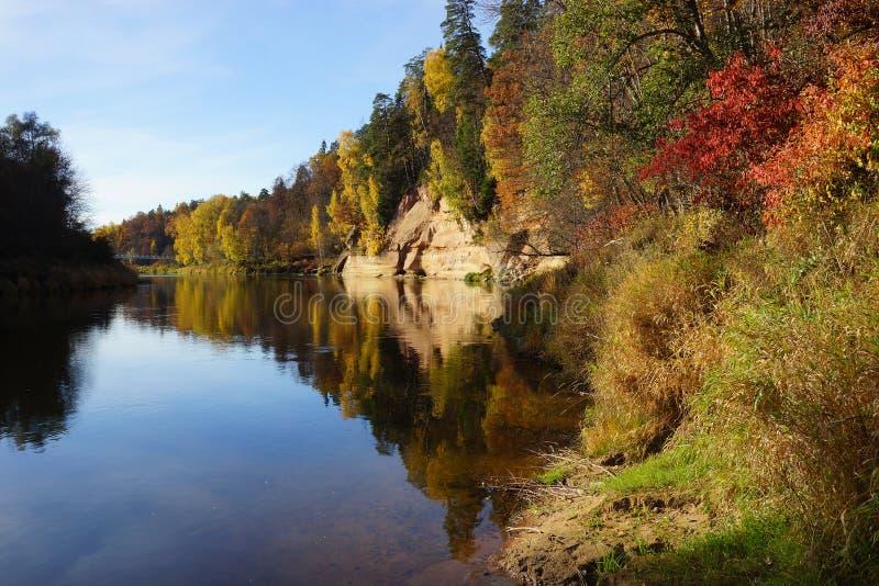 Gauja park narodowy zdjęcia stock