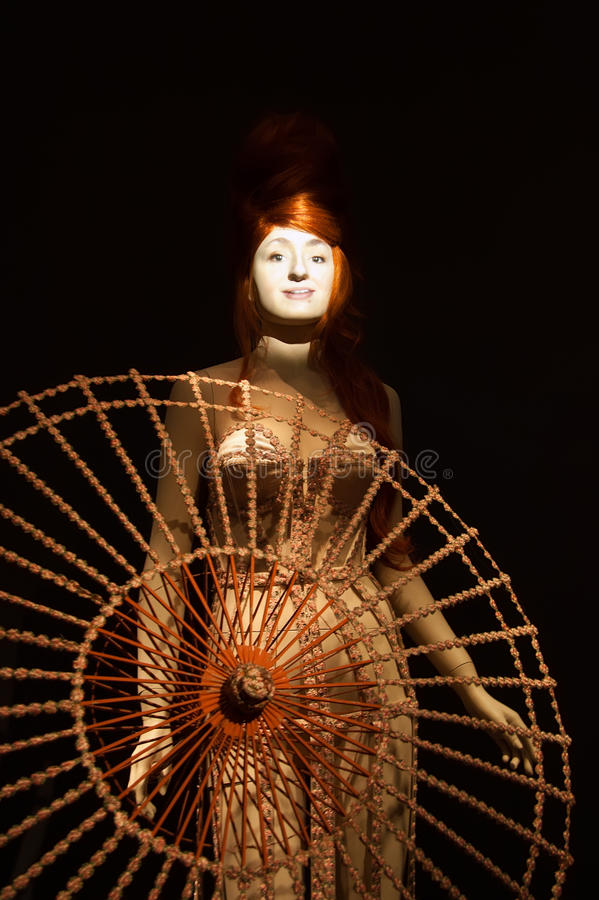 Free Gaultier Exhibition In De Young Museum, S Stock Photography - 25972782