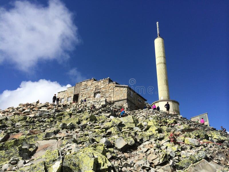 Norway Gaustadtoppen natures beauty Rjukan stock photos