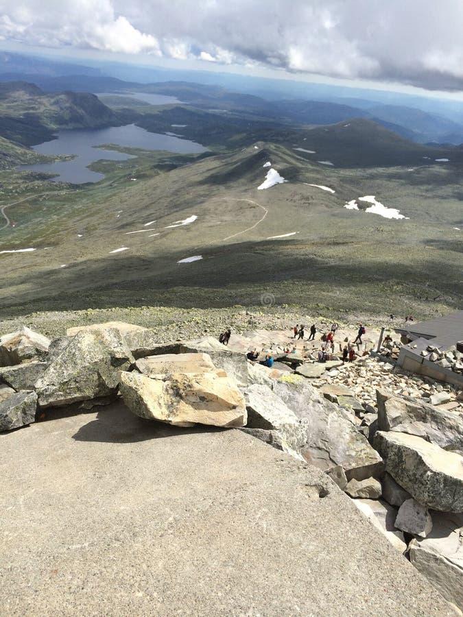 Gaustadtoppen Rjukan Norway stock photos