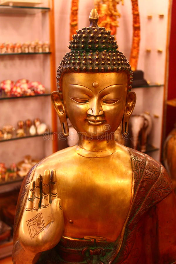 Gautam Будда стоковые фотографии rf