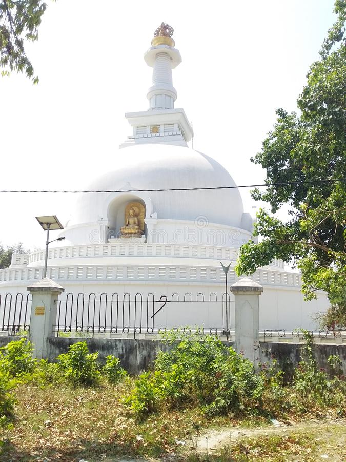 Gautam Buddh Temple Vaishali photographie stock