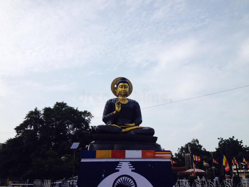 Gautam Buddha foto de archivo