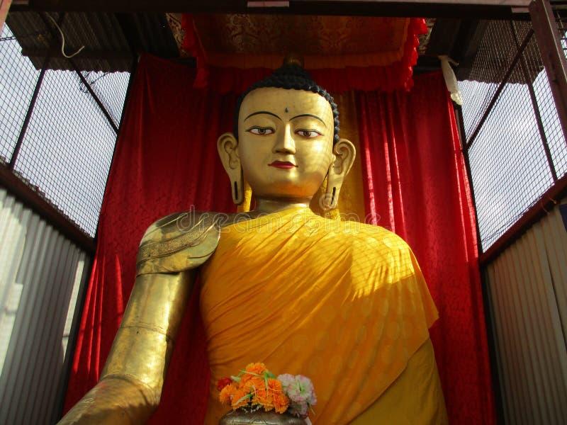 Gautam buddha de Siddharta fotografia de stock
