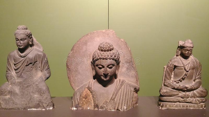 Gautam Buddha Statue fotografía de archivo