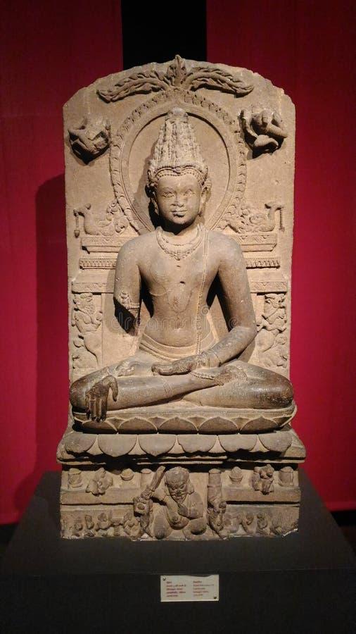 Gautam Buddha Statue royalty-vrije stock foto's
