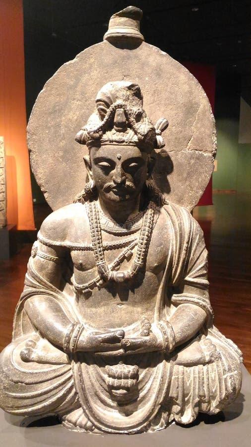 Gautam Buddha Statue stock foto's