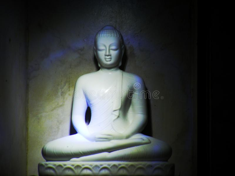 Gautama Boedha stock afbeeldingen