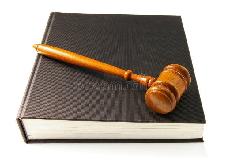 gavel βιβλίων νόμος στοκ φωτογραφίες με δικαίωμα ελεύθερης χρήσης