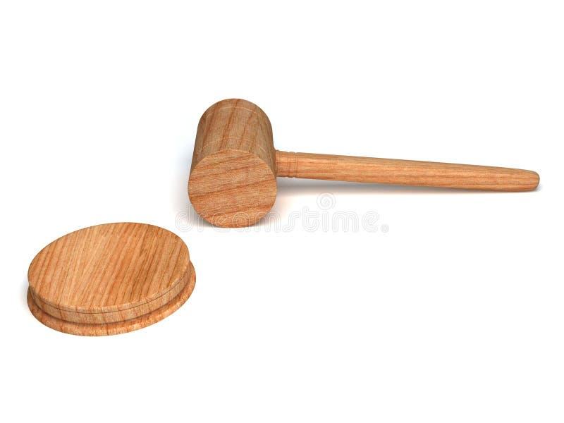 gavel деревянный стоковые изображения rf