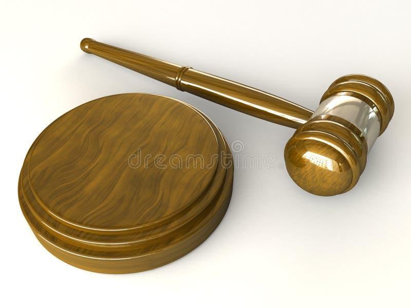 Download Gavel stock illustration. Illustration of juridical, courthouse - 11927678