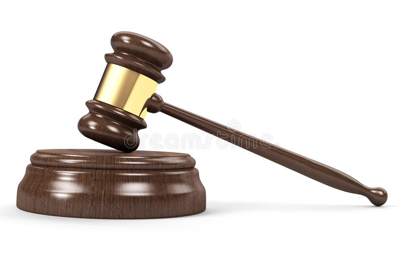 Download Gavel stock illustration. Illustration of judge, gavel - 16440894