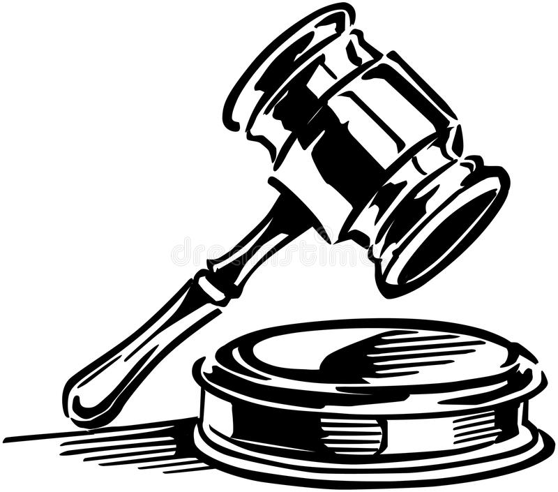 gavel stock vector illustration of graphics classic 42097404 rh dreamstime com gavel clipart png