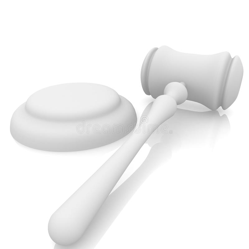 Free Gavel And Stand Stock Photos - 23873743