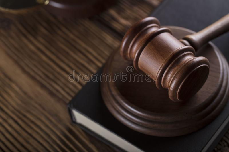 Business and law theme. stock photography