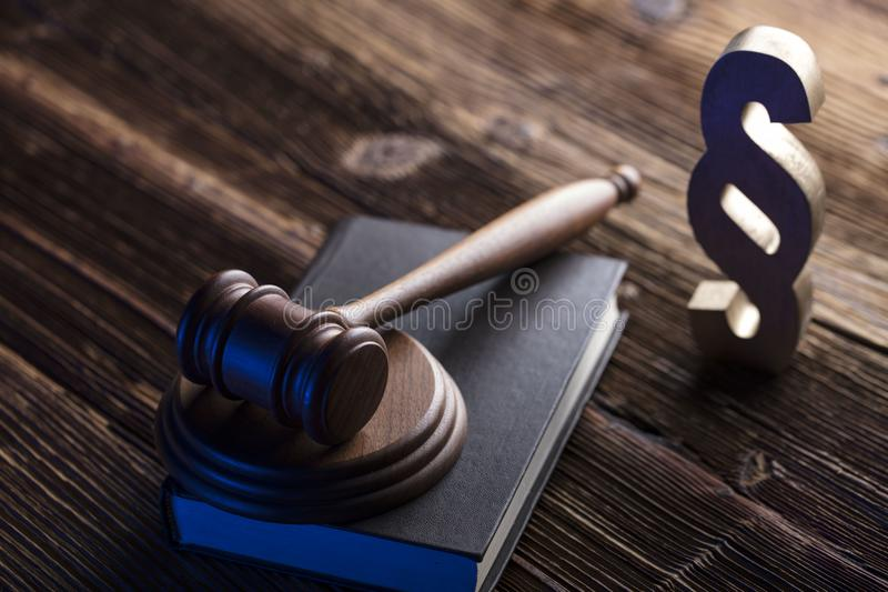 Business and law theme. royalty free stock image