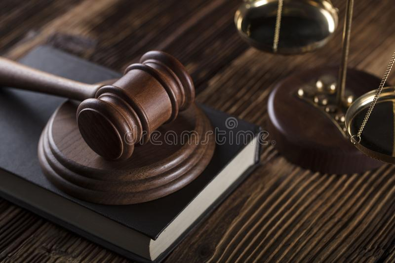 Business and law theme. royalty free stock photos