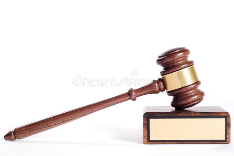 Gavel de justiça foto de stock royalty free