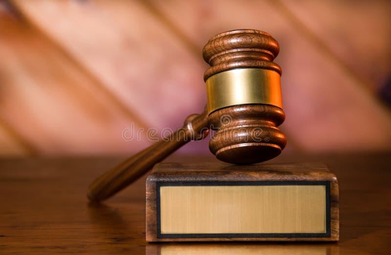 Gavel de justiça imagens de stock