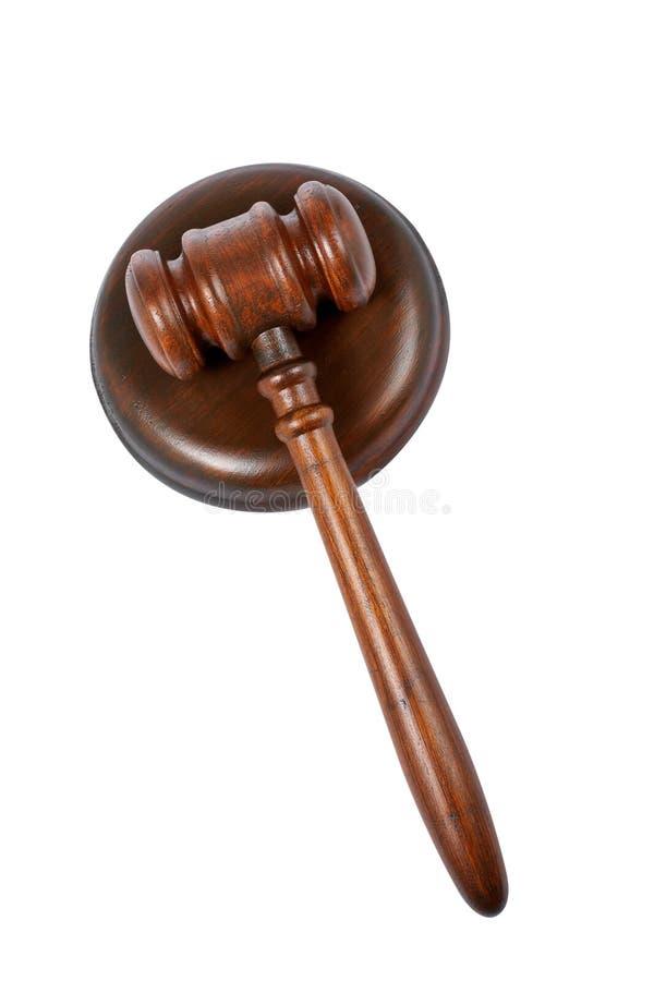 Gavel de madeira imagem de stock royalty free