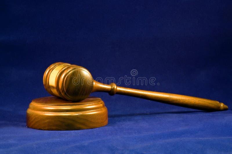 Gavel de madeira fotografia de stock royalty free