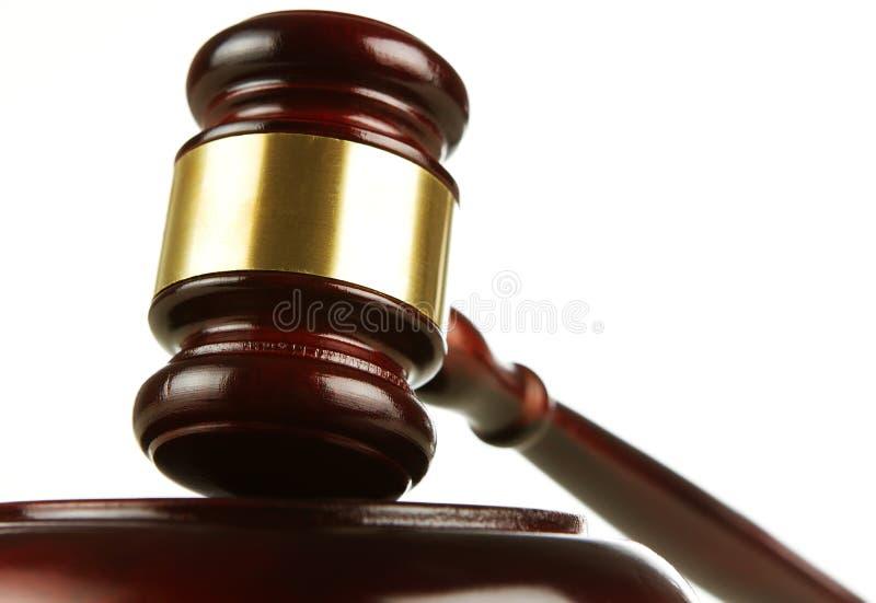 Gavel de madeira dos juizes imagens de stock royalty free