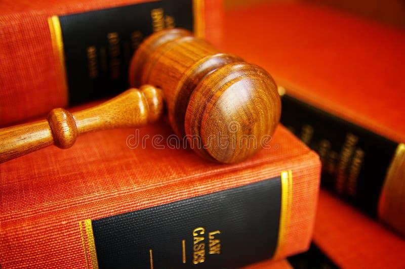Gavel do juiz foto de stock