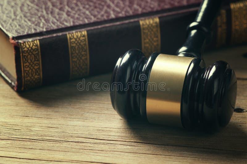 Gavel du juge photo stock