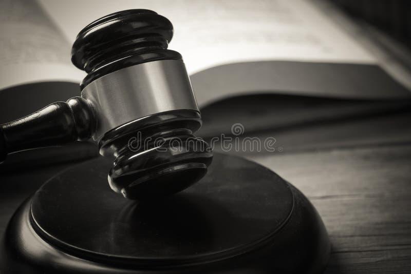 Gavel du juge photo libre de droits