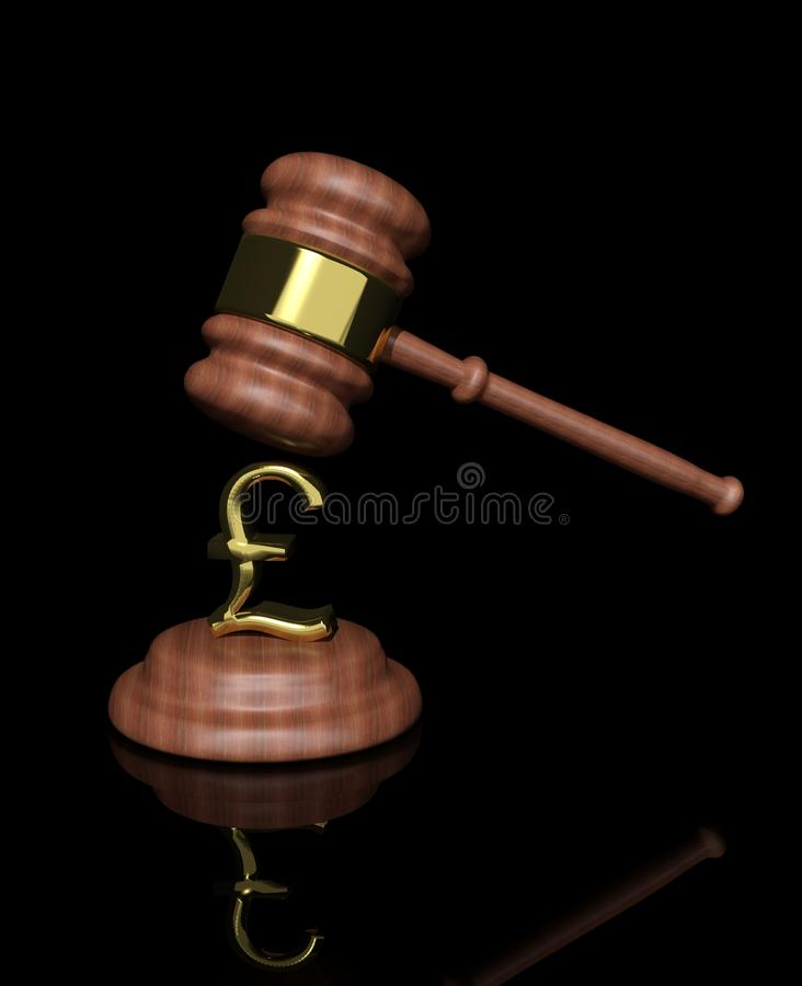 Download Gavel With Pound Design Stock Photography - Image: 26589752