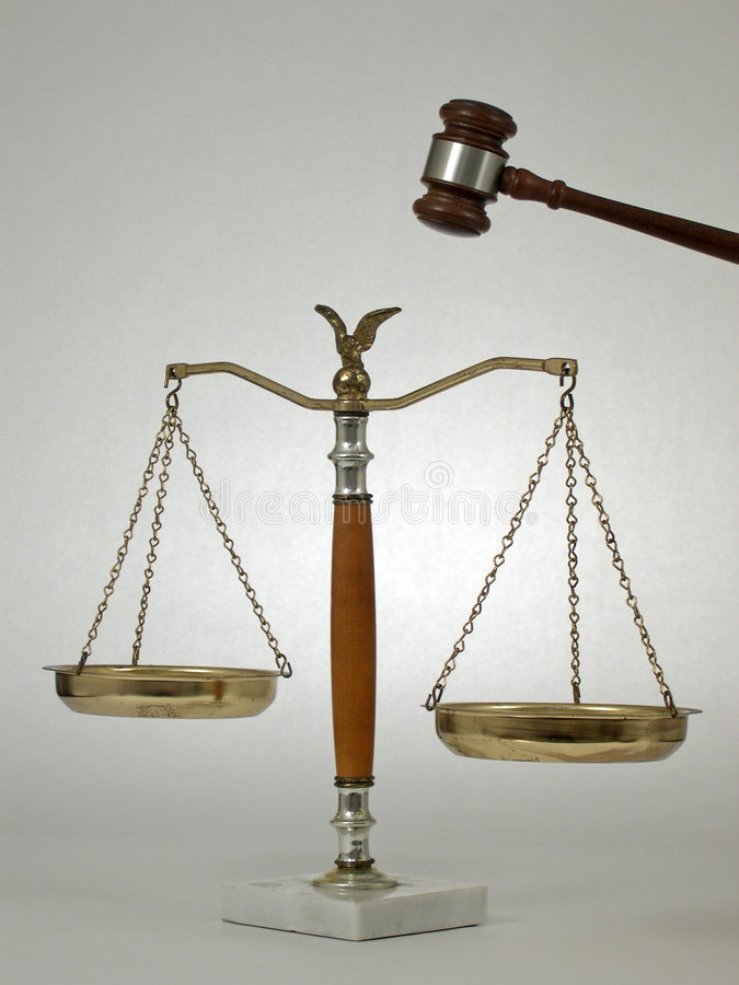 Free Gavel & Scales Royalty Free Stock Image - 339726