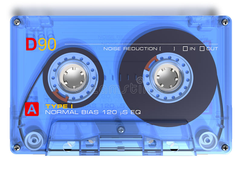 Gaveta audio ilustração stock