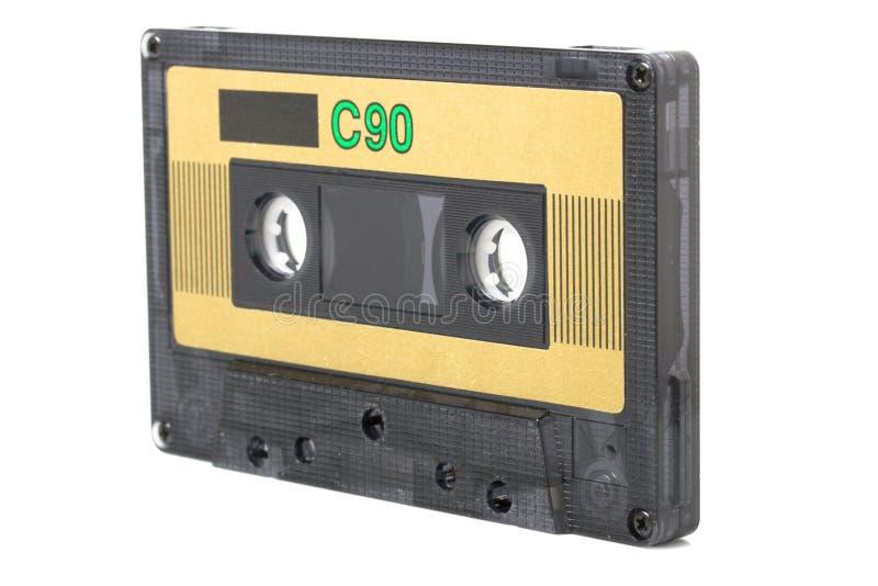 Gaveta audio (fita) isolada fotografia de stock