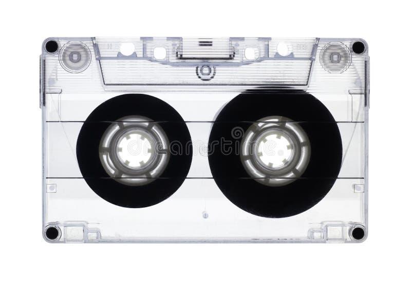 Gaveta audio velha transparente isolada fotografia de stock royalty free