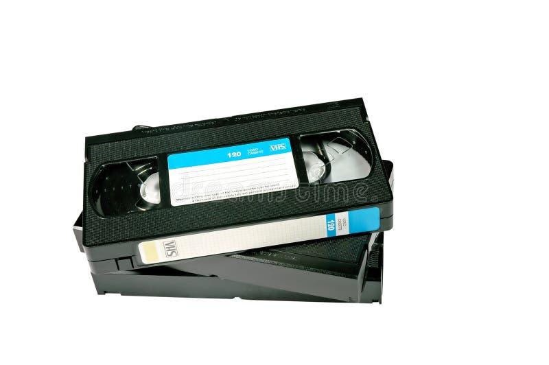 Gaveta do video tape imagem de stock