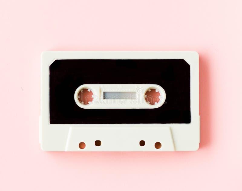 Gaveta para o gravador ou o walkman, em cores pastel felizes fotografia de stock royalty free