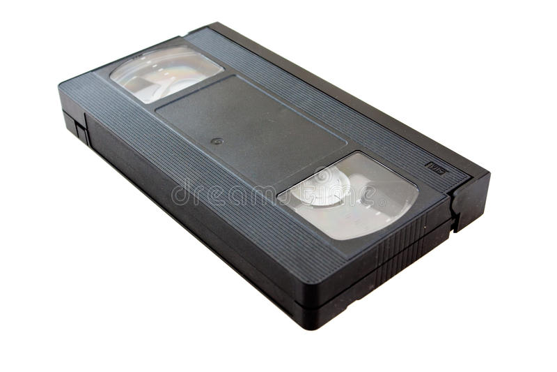Gaveta video do VHS imagens de stock royalty free
