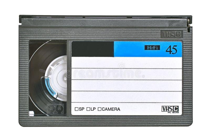 Gaveta video do VHS fotografia de stock