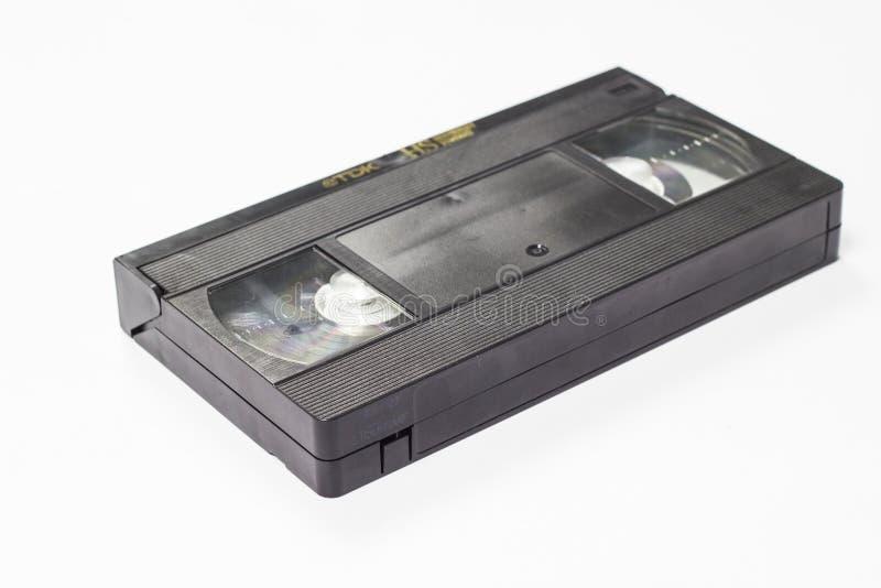Gaveta video retro velha de VHS fotos de stock royalty free