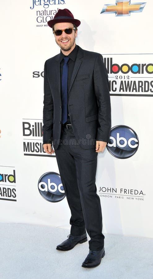 Gavin Degraw Arrives At The 2012 Billboard Awards Editorial Stock Photo