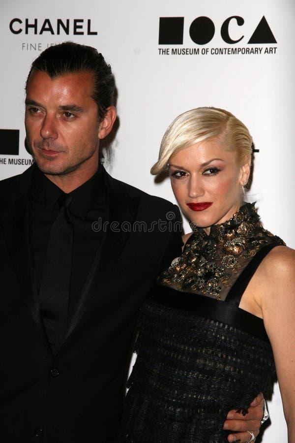 Gavin Rossdale, Gwen Stefani imagem de stock royalty free