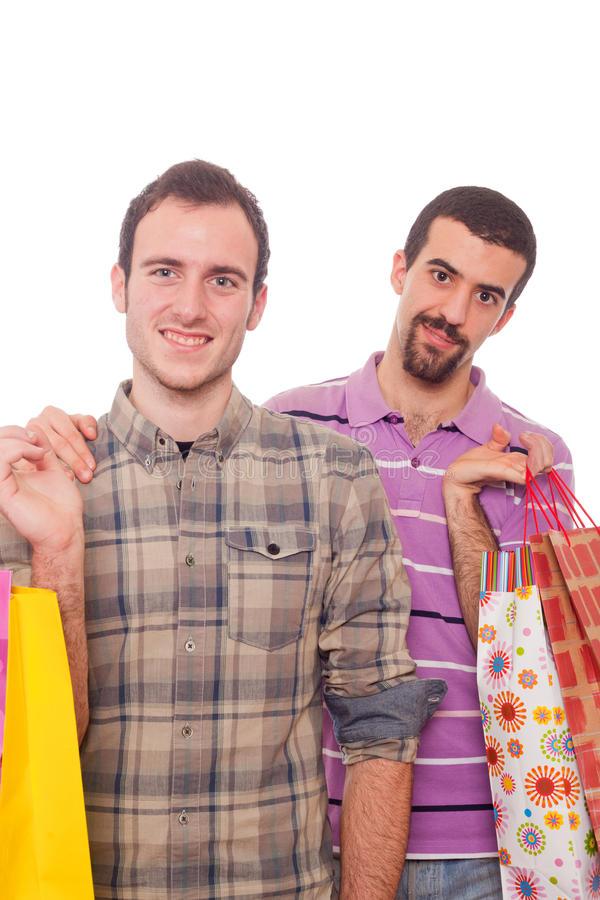 Download Gay Couple Shopping stock image. Image of fashion, buyer - 18576061