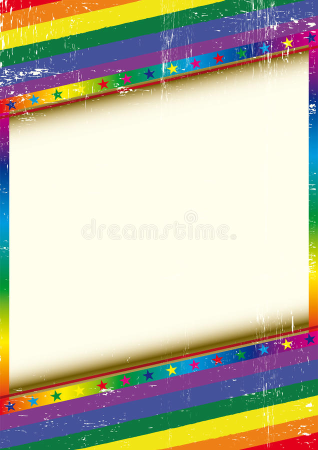 Download Gay frame with a texture stock vector. Image of effect - 25432792
