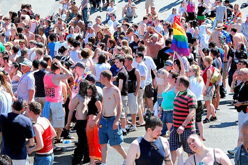 Gay, lesbian pride. stock photos
