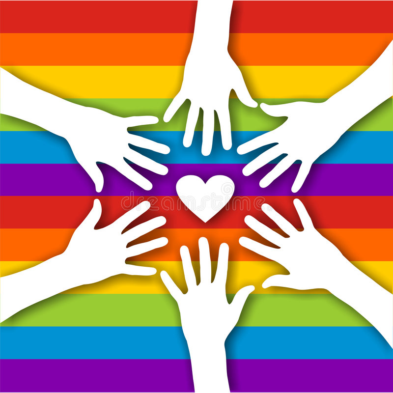 Gay love royalty free stock photos