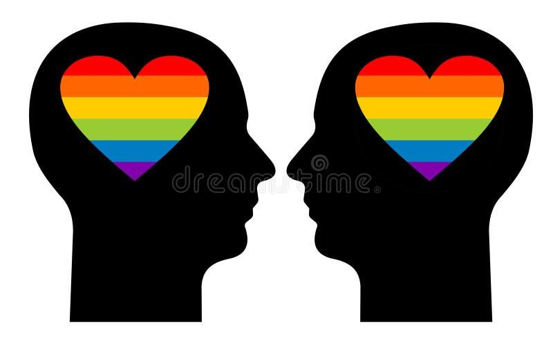Gay love royalty free stock image