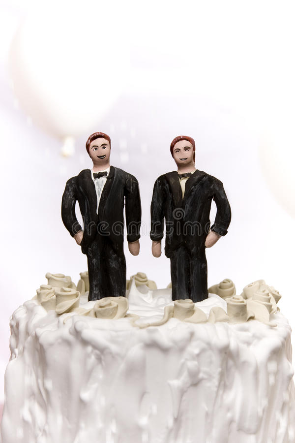 Gay Marriage. Gay/same sex marriage concept royalty free stock images