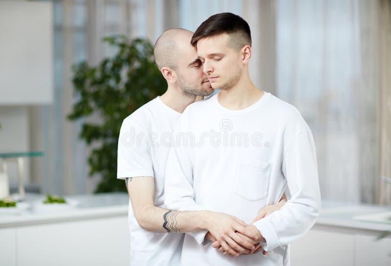 Gay men royalty free stock photos