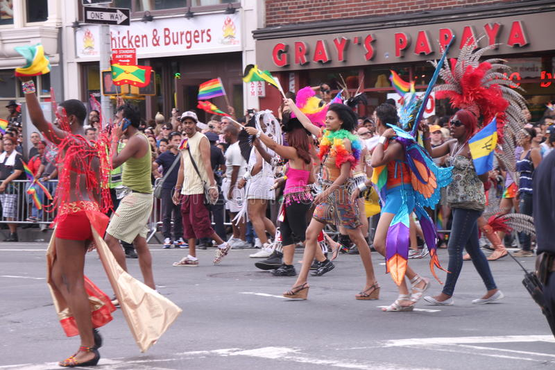 Download Gay parade Manhattan editorial stock photo. Image of city - 20074498